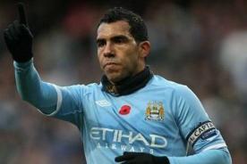 Fútbol inglés: Carlos Tévez vuelve mañana al Manchester City