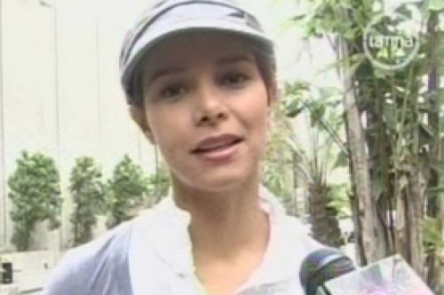 Maricielo Effio espera quedar embarazada este año