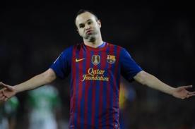 Barcelona: Iniesta se pierde debut en Champions League por lesión