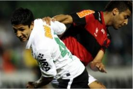 Brasileirao: Raúl Ruidíaz participó en victoria del Coritiba