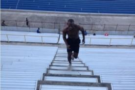 Video: Mira como se entrena Usain Bolt