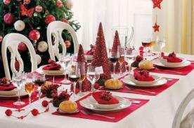 Navidad 2012: Consejos para decorar tu mesa en la cena de Navidad