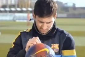 Barcelona: Lionel Messi, Iniesta y Xavi envían saludo por Navidad - Video