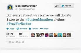 Tragedia en Boston: Cuentas falsas de Twitter engañaban a los usuarios