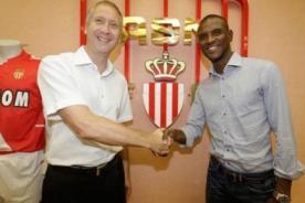 Eric Abidal se convirtió en el nuevo refuerzo del AS Mónaco