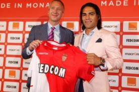 Radamel Falcao presentado en AS Mónaco