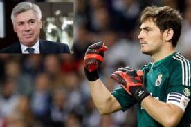 Real Madrid: Iker Casillas empieza bien con Carlo Ancelotti