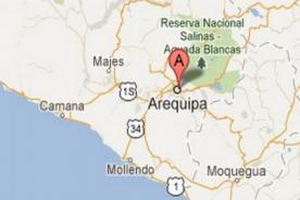 Sismo en Arequipa deja 3 muertos, 12 heridos y viviendas dañadas