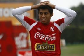 Selección peruana: Rinaldo Cruzado no llegaría al partido ante Bolivia