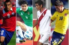 Eliminatorias Brasil 2014: Programación de la última fecha