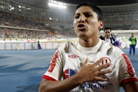 Raúl Ruidíaz estaría en los planes de Colo Colo de Chile