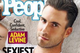 Adam Levine es El Hombre Más Sexy del Mundo, según People