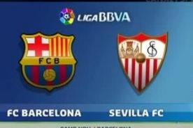 Liga BBVA: Barcelona vs. Sevilla en vivo por DirecTV – En vivo