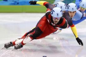 Sochi 2014: Charles Hamelin ganó el oro en patinaje de velocidad - Video