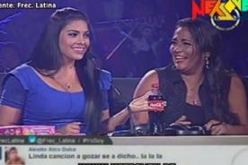 Yo Soy: Katia Palma se burla de comentarios de Maricarmen Marín - Video