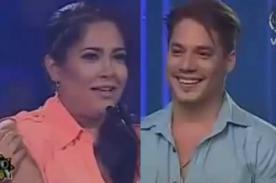 Yo Soy: Katia Palma piropea a 'Ricky Martín' frente a su madre - Video