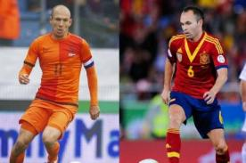 España vs Holanda ATV en vivo - Mundial Brasil 2014