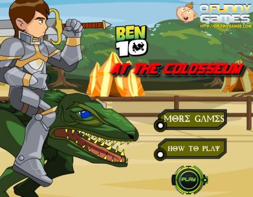 Ben 10 en fantástico juegos friv gratis online