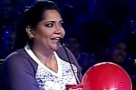 Yo Soy: Katia Palma imitó a los Minions probando helio - VIDEO