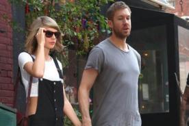 ¡Taylor Swift y Calvin Harris celebran su primer año juntos!