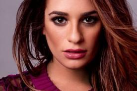 Lea Michele comparte nostálgica foto