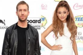 ¿Ariana Grande colaboró para Calvin Harris?