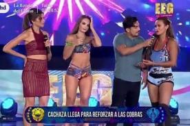 Esto Es Guerra: ¿Cachaza y Angie Arizaga estuvieron peleadazas y nadie lo sabía?