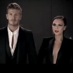 David y Victoria Beckham juntos en comercial de nuevo perfume