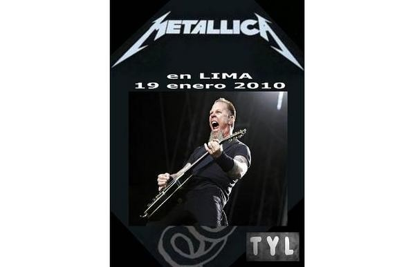 Metallica en Lima: Audio del concierto se puede comprar desde la web