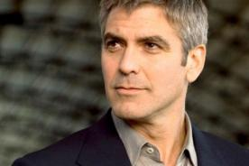 George Clooney no teme a que la gente lo califique de gay
