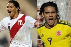 Confirmado: Perú y Colombia jugarán el 3 de junio a las 3 de la tarde