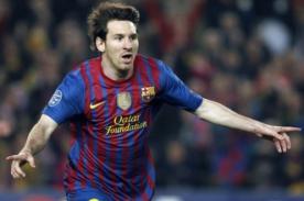 Lionel Messi con el Barcelona rompe nuevo récord en Champions League