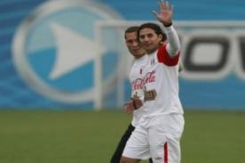 Claudio Pizarro: Es complicado, no sé si jugaré