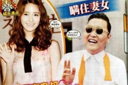 Niegan presunto romance entre Psy y YoonA de Girls' Generation