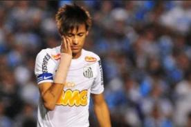 Brasileirao: Santos de Neymar perdió ante un equipo descendido