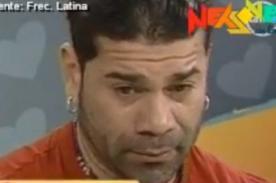 Carlos' Tomate' Barraza llora por confesiones de Danuska Zapata - Video