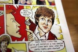 Paul McCartney cumple su sueño de convertirse en un personaje de cómic