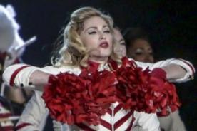Gira de Madonna es la que más dinero recaudó en el 2012
