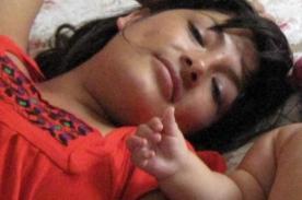 Magaly Solier publicó foto junto a su bebé en Facebook
