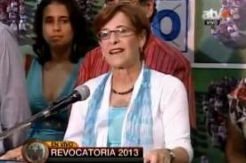Susana Villarán: Hoy no perdió nadie, hoy ganó Lima