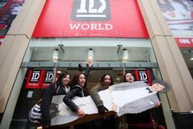 One Direction deslumbra con tienda dedicada a directioners inglesas