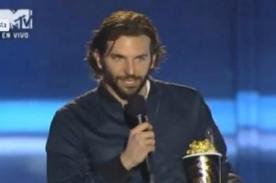 MTV Movie Awards 2013: Bradley Cooper recibe premio a Mejor Actuación