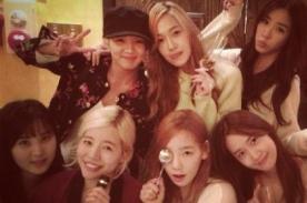 Integrantes de Girls Generation celebraron el cumpleaños de Sunny