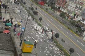 Parada Militar 2013: Así quedó la avenida Brasil – Foto