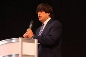 Jaime Bayly se presentó en la Feria Internacional del Libro