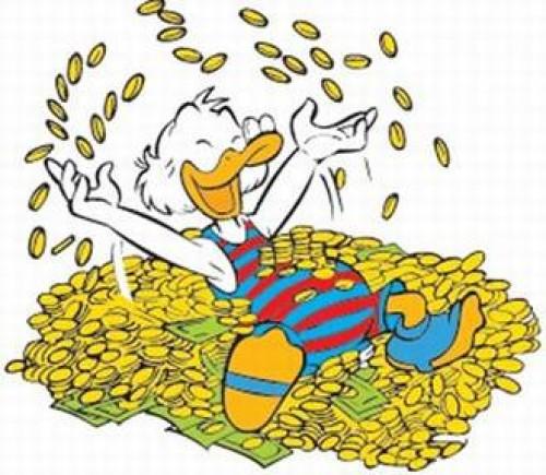 Rico MacPato, el personaje más rico del mundo