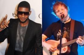 Tuiteros comparan a Usher y Ed Sheeran con Floyd Mayweather y Saúl Álvarez
