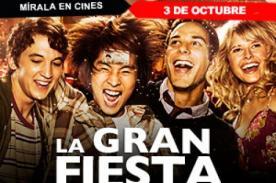 La Gran Fiesta: Estreno en Perú - Jueves 3 de octubre