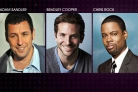 People's Choice Awards: Bradley Cooper y Adam Sandler como Actor de Comedia