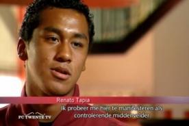Twente de Holanda realizó video del peruano Renato Tapia